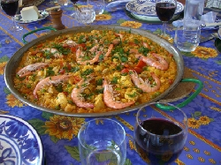 Paella. Spain's national dish