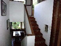 Stairs from entrance to living room