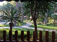 Terrace villa, view garden