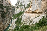 the Mont.rebei gorge