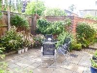 Part of Coutyard garden