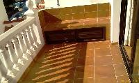 Master bedroom sunny balcony