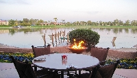 Resort Lakefront Dining with Spectacular