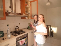 Kitchenette for use of guests