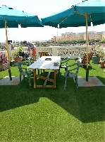 Beautiful sun terrace on the same floor