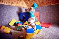 Toddler soft playroom