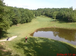 The 4th hole on our golf course