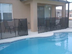 Pool deck area