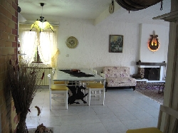 Partial view of the living room