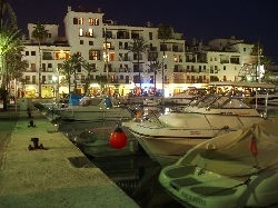 Puerto de la Duquesa by Night
