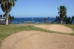 Amarilla golf course with sea  views