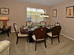 Formal dining room table & dinerware