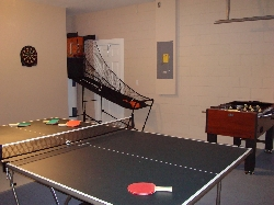 Games room full of activities
