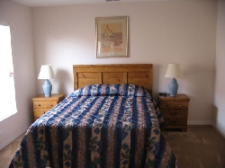 Queen size Bed  Master bedroom