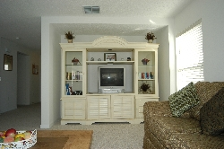 Family Room with TV, DVD, etc