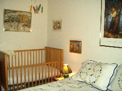 Our Swedish room for young families.