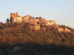 The Village of Rosciano, with local bars