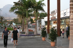 Preminade shops and restaurants