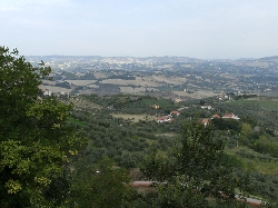 Looking towards the Adriatic
