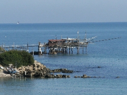 Typical fishing hut