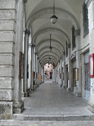 Arcade in Penne