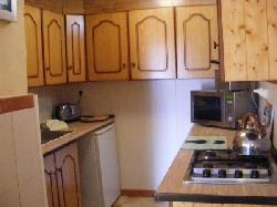 Villa kitchen area