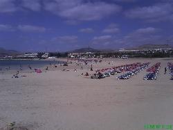2nd beach in caleta de fuste