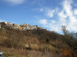 view to Farindola