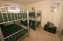 4 full size bunks! Big enough for adults