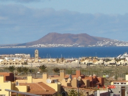 SEA & LANZAROTE VIEWS FROM  ROOF TERRACE