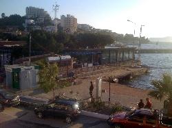 Harbour-side restaurant, Gulluk
