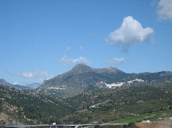 The Hills and Village of Casares