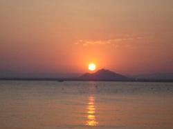 Captivating Sunset In La Manga