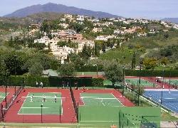 Tennis club next door