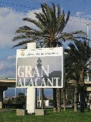 Entrance to Gran Alacant