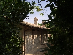 The old stone villa from the early 1700'