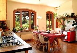 Air Conditioned Kitchen, Wooden floor