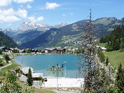 Lake Vonnes in Chatel