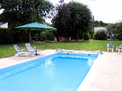 Private heated pool for all seasons