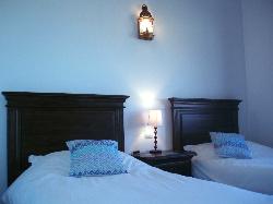 Twin bedroom in Casita La Loma