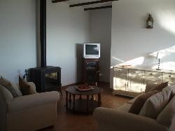 Casita La Loma's lounge area