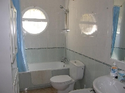 Bath, Shower and Toilet