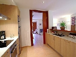 kitchen with all amenities you need