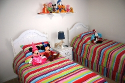 Disney themed Twin Bedroom