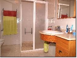 Part of shower room first floor apartmen