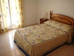 Master Bedroom with Doors onto Terrace