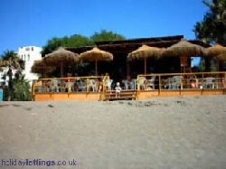 chirrunguita beach bar 5 mins walk