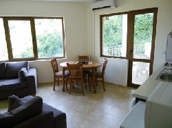 The Dining area and Balcony 1