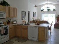 Kitchen through to Family Room