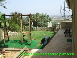 Rear Garden Childrens Play Area